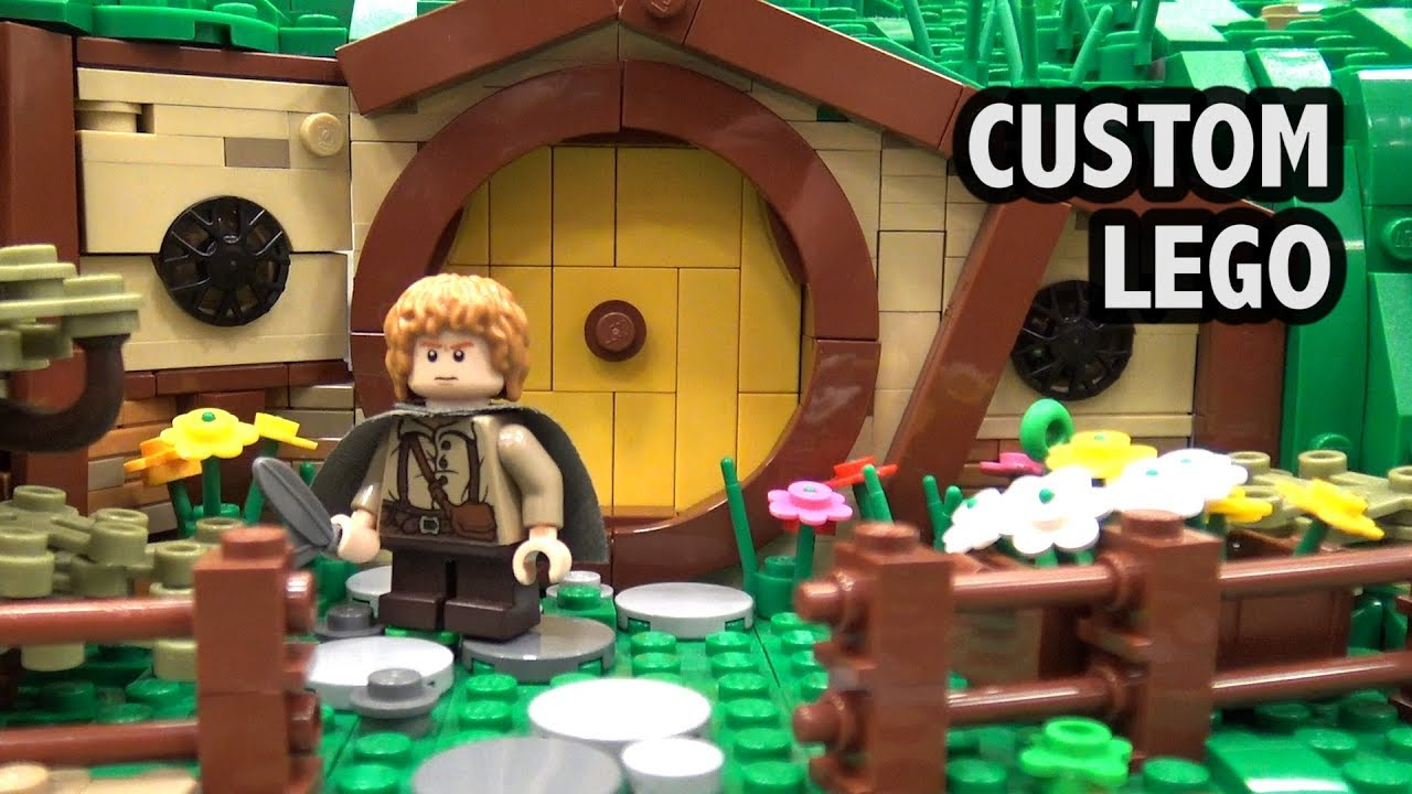 Custom LEGO Hobbiton Shire | BrickCon 2018
