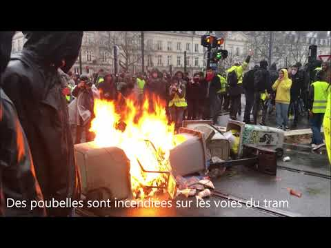 Gilets jaunes. Manifestation sous haute tension à Nantes [VIDEO]
