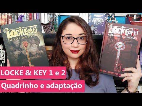 LOCKE & KEY - Joe Hill - Vol.1 e 2 e adaptação da Netflix ? | Biblioteca da Rô