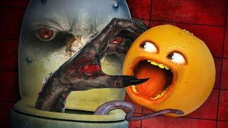 Annoying Orange - TOILET TERROR! #Shocktober