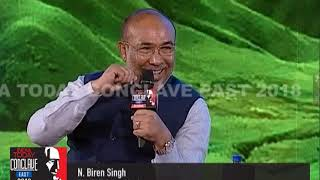 Manipur Is Not Kashmir :  Biren Singh, Manipur CM At India Today Conclave East 2018