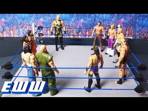 10-Man Battle Royal to determine U.S. Championship No. 1 Contender: WWE EWW, June 17, 2017