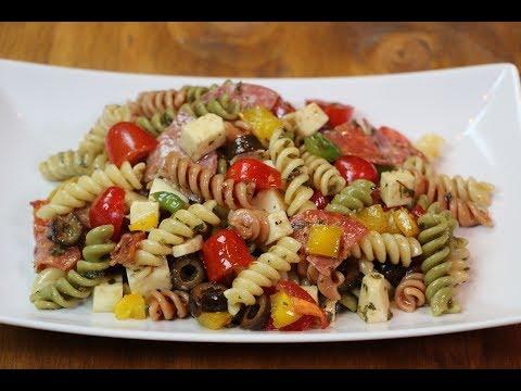 Antipasto Pasta Salad Recipe – How to Make Antipasto Pasta Salad
