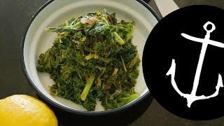 How To Make Lemon And Mint Kale Salad Bondi Harvest