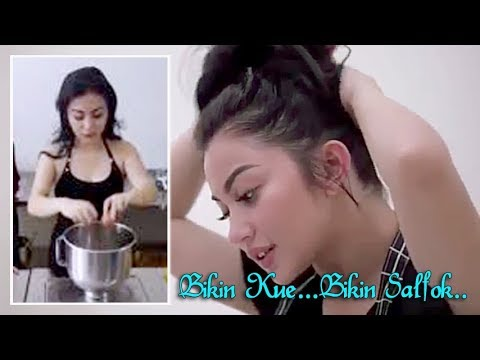 Video Hot Ariel Tatum Kegerahan saat Bikin Kue, Bikin Salfok... Guys