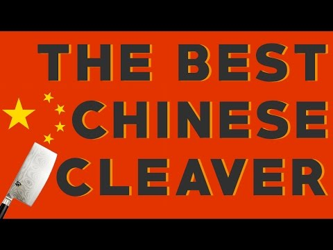 The Best Chinese Cleaver: My Favorite Chinese Chef Knife