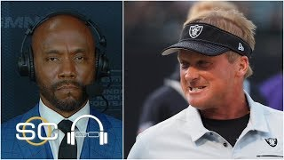 The Raiders wanted to prove that they're more than Antonio Brown - Louis Riddick | SC with SVP
