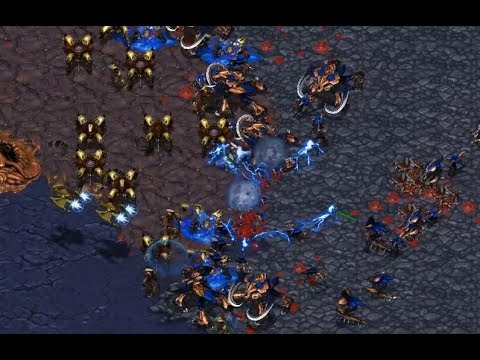 MaNa (P) v Zazu (Z) on Heartbreak Ridge - StarCraft  - Brood War REMASTERED