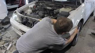 Замена ноуската (телевизора) Toyota Cresta Томск