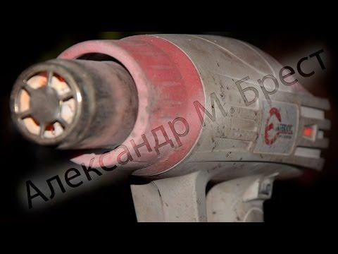 Технический фен ИнтерТул перестал включаться \ Чиним фен \ обрыв спирали \ INTERTOOL \ Ремонт