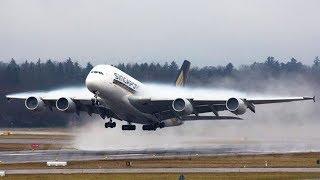 Для тех кто интересуется самолётами, целиком процесс старта аэробуса А380