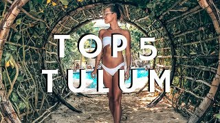 TOP 5 THINGS TO DO IN TULUM - MEXICO 2018 - TRAVEL GUIDE