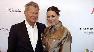 "David Foster And Katharine McPhee ""American Icon Awards"" Gala Red Carpet"