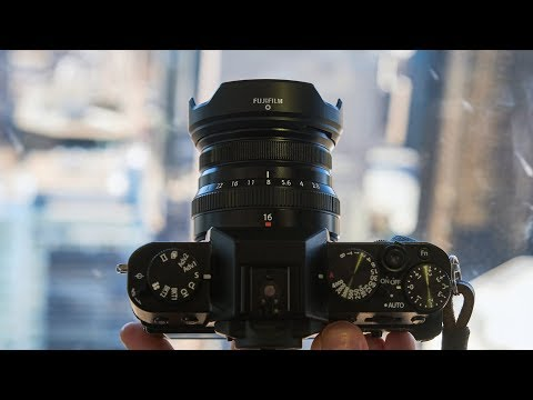 External Review Video asX6h-aRY0Q for Fujifilm FUJINON XF16mmF2.8 R WR Lens