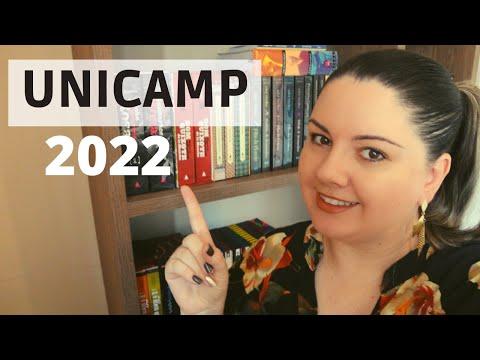 Unicamp 2022 - Lista de livros obrigatórios