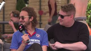 Editors   Tom And Russell Interviewed Backstage At Firenze 16th June 2019