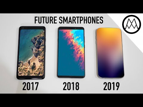 5 Amazing Upcoming Smartphone Features - 2018 / 2019