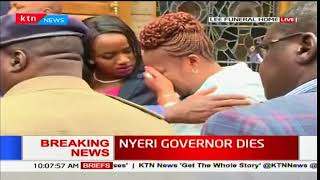 Sentiments from Nyeri residents on late Dr. Wahome Gakuru