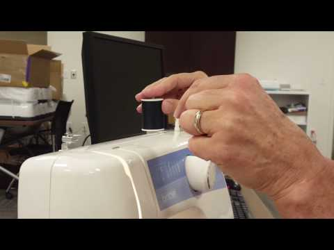 Threading Brother 2125 machine