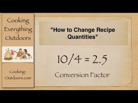 Video How to Convert Recipes Using a Conversion Factor | Easy Cooking Tips