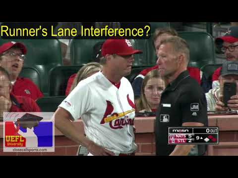 Runner's Lane Interference No-Call in St. Louis