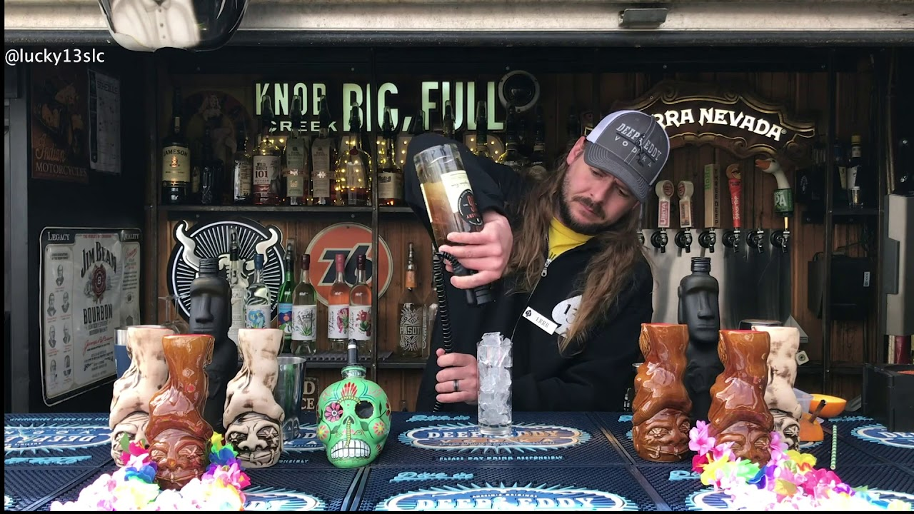 Behind The Bar With Jay- Tiki Edition- Lucky 13