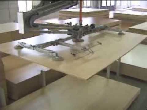Holz-Her automata bútorlapraktár