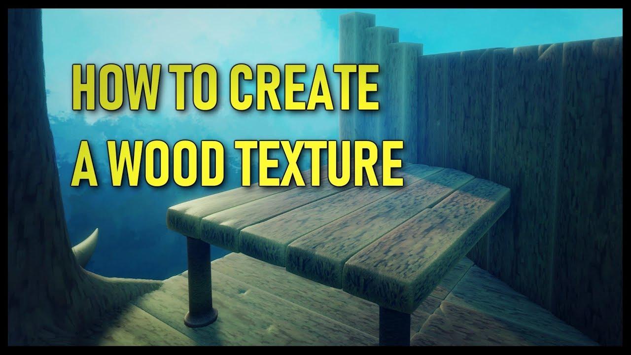 Comment créer une texture bois dans Dreams - Tuto par Sakku's Mind