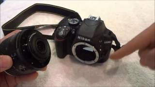 How To Change The Lens On A DSLR Camera