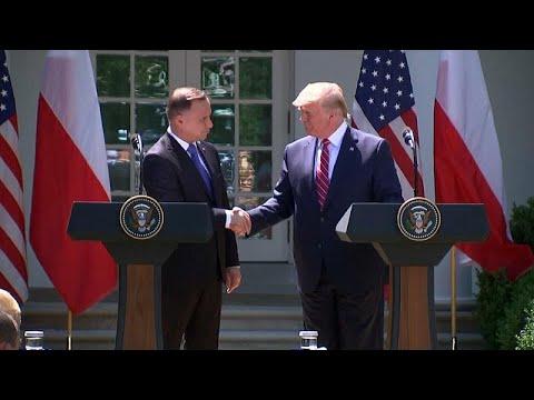 العرب اليوم - شاهد: ترامب يتعهد بنشر ألف جندي أميركي في بولندا