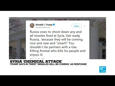 Syria chemical attack: Trump says