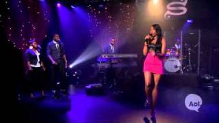 Jennifer Hudson - Angel LIVE @ AOL Sessions
