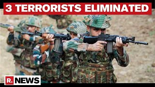 J&K: Three Terrorists Killed By Forces In Sopore Operations