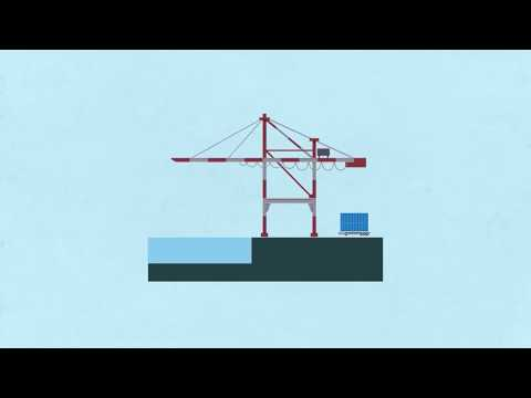 [KMI 인포그래픽] 5. 항만의 골리앗, 안벽크레인의 경제학 동영상표지