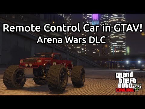 Remote Control Car In GTAV Freeroam! - An Early Look At The RC Bandito