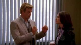 Extrait 3 : Jane et Lisbon attendent le coupable (VO)