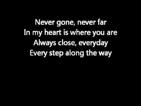 Backstreet boys never gone lyrics.wmv