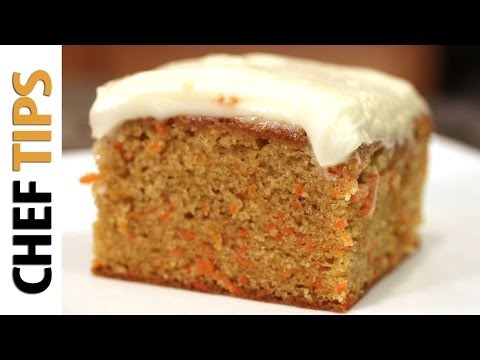 Video Carrot Cake Recipe