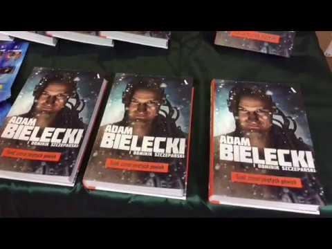 Spotkanie autorskie z Adamem Bieleckim