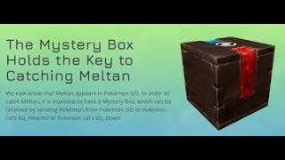 Mystery Box in Pokémon Go!