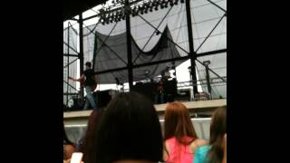 Austin Mahone singing So Sick at soundcheck in Allentown
