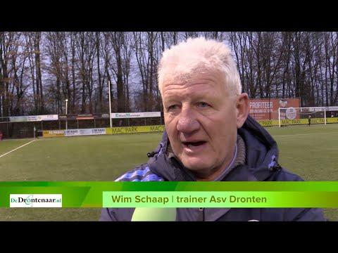 VIDEO | Kritische trainer Wim Schaap past onvoldoende bij huidige status van Asv Dronten