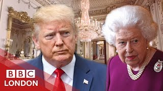 What actually happened on Trump's UK state visit - BBC London