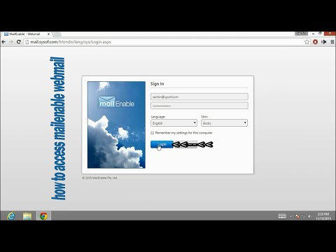 Download How to access mailenable webmail Mp4 HD Video and MP3