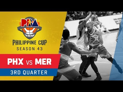Phoenix vs. Meralco – Q3 | PBA Philippine Cup 2018