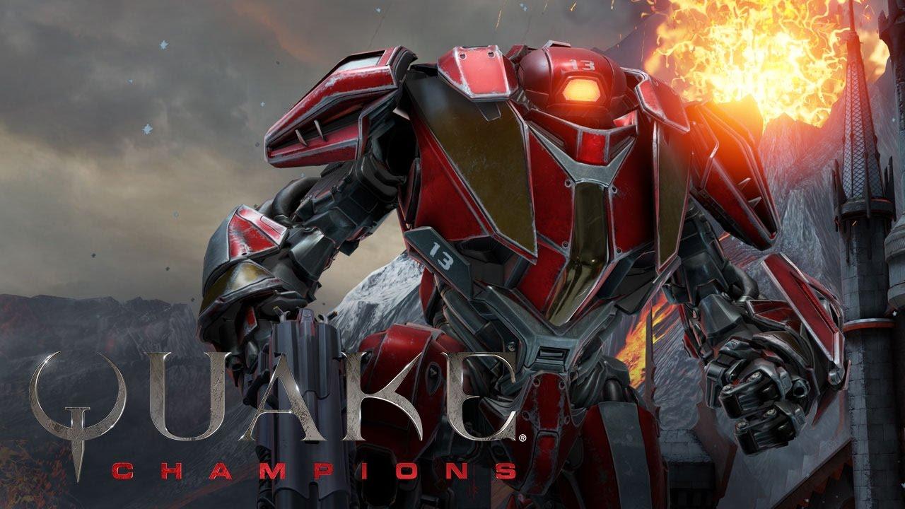 Quake Champions – Trailer del campione Clutch