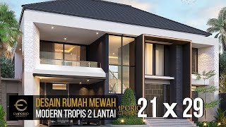 Video Desain Rumah Modern 2 Lantai Mr. Julio di  Pererenan, Badung, Bali