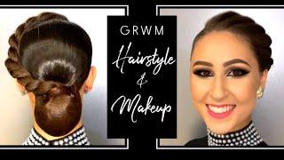 Ballroom Hairstyle & Makeup Tutorial ~ GRWM At Ohio Star Ball! ~