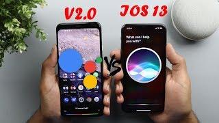 The New Google Assistant V2.0 vs Siri - On Pixel 4 XL & iPhone 11 Pro Max (2019)