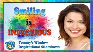a51af9bb6a29 Smiling Is Infectious - Tommy s Window Inspirational Slideshow